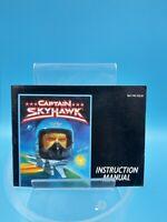 jeu video notice BE nintendo NES USA captain skyhawk