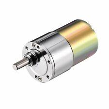 uxcell DC Motor 24 Volt 300RPM Gear Reduction Box Geared Motor Electric Gearbox