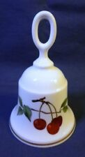 "Royal Worcester ARDEN / EVESHAM GOLD TABLE BELL English Fine Bone China 4.25"" T"