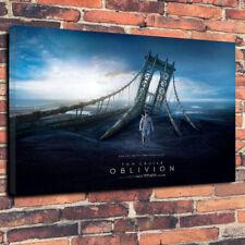 """L'oblio FILM POSTER stampato foto su tela A1.30""""x20"""" 30 mm profondo Tom Cruise"""