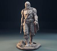 MANDALORIAN STAR WARS || Custom Resin Model Kit Figure/Statue 1/10 200mm