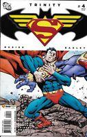 Trinity Batman Superman Wonder Woman Comic 4 Cover A First Print 2008 DC