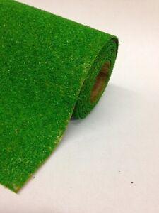 "Grass Mat  Mid Green 48""x12"" 120cmx30cm Javis Landscape scenery roll no. 15"