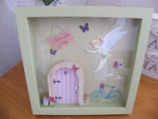 3D Fairy door Box Frame Picture - Gift - Flying Fairy.