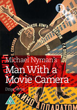 DVD:MAN WITH A MOVIE  CAMERA - NEW Region 2 UK