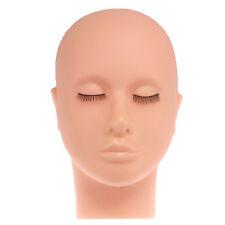 Reusable Mannequin Training Practice Head For Salon Makeup Eyelash Extension