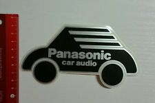 Pegatina/sticker: Panasonic car audio (120316123)