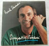RAOUL CASADEI LP SIMPATICI ITALIANI 33 GIRI VINYL ITALY 1988 TMS 100 VG+/NM