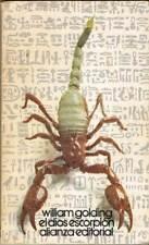 El dios escorpión - William Golding. Alianza Editorial