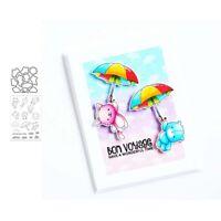 Stanzschablone Regenschirm Hochzeit Weihnachten Oster Geburtstag Karte Album DIY