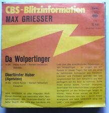 "MAX GRIESSER - Da Wolpertinger - 7""-Single"
