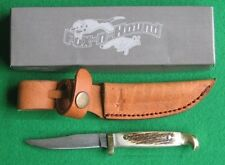 FOX-n-HOUND DAMASCUS SMALL GAME SKINNER Stag knife/knives - FH610 -New In Box