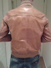 Authentic DSQUARED leather jacket 74AM230 tag.52