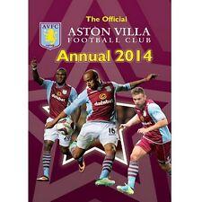 Aston Villa Yearbook 2014 New English Premier League Villians AVFC