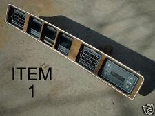 NICE Lincoln Mark VII Instrument Wood Dash Trim Bill Blass 86 87 1987 88 89 1989