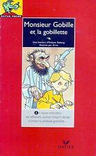Monsieur gobille et la gobillette  RATUS ROUGE n° 14 * CP CE1 Premières lectures