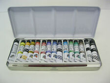 Ferrario watercolor paint set TINTORETTO 15 tubes 7.5 ML + 1 brush-- NICE GIFT !