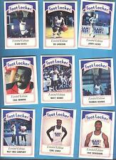 1991 FOOT LOCKER SLAM FEST BASKETBALL CARD SET NBA NFL MLB SPORTS CELEBERTIES