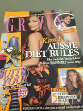 Grazia Magazine October 2012 Kim Kardashian Kate Middleton Ryan Gosling