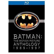 Batman - The Motion Picture Anthology 1989 - 1997, 4 Blu Ray Box, NEU & OVP