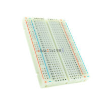 10PCS Mini Universal Solderless Breadboard 400 Contacts Tie-points Available