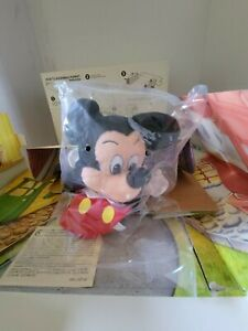 Mickey Mouse Disneyland Toontown Kodak Mattel Cardboard Puppet Theater- 1993 NIB