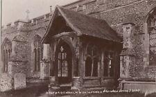 BOXFORD(Suffolk) :  Boxford Church,North Porch-RP-CLARKE'S series