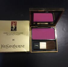 YVES SAINT LAURANT -  FARD A JOUES POUDRE - BLUSHING POWDER - #21 - NEW IN BOX