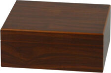 "25 CIGAR HUMIDOR WALNUT FINISH * NEW * H 4.33"" × W 10.24"" × D 8.66"""