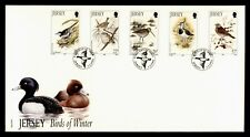 Dr Who 1992 Jersey Fdc Birds Of Winter Nice Cachet 182407