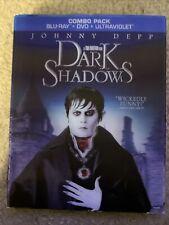 Dark Shadows (Blu-ray/Dvd, 2012, 2-Disc Set)