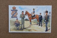 Military Uniforms Postcard 13th/18th Royal Hussars  Unposted