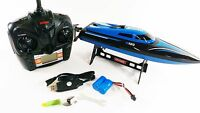 LCD Screen Skytech 2.4G 4CH Water Cooling High Speed RC Racing Model Boat Toy