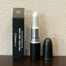 MAC Lipstick TIME TO SHINE Full Size FROST Shimmer DISCONTINUED NIB