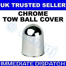 CHROME Tow Ball Cover Towing Hitch Cap Clean Tidy protect Towball Swan or flange