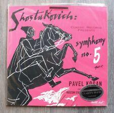 Classic Records CR 2001 Shostakovich Symphony 5 Kogan CLARITY LP NEW SEALED