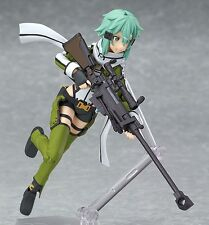 "Anime Sword Art Online II Asada Shino Sinon 6"" Figma PVC Figure 241 New with Box"