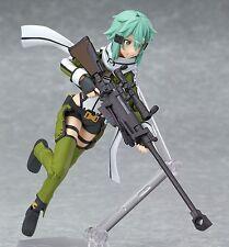 "Anime Sword Art Online II Asada Shino Sinon 6"" Figma PVC Figure Action Toys Kids"