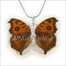 Butterfly Acrylic Silver Plated Costume Jewellery