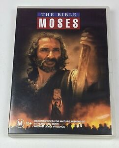The Bible: Moses Parts 1 & 2 - Genuine Region 4 DVD