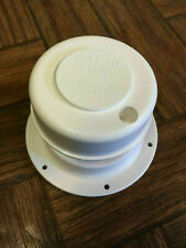 RV CAMPER MOTORHOME PLUMBING SEWER BATHROOM VENT ROOF CAP WHITE REMOVABLE TOP
