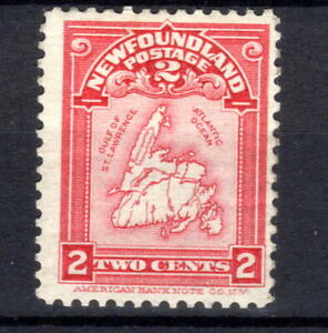 Newfoundland Canada  KGV 2c  SG94 lake 1908 Cat £32 MH [C300921]
