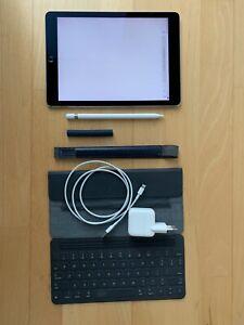 Apple iPad Pro mit Apple Pencil 128GB Wi-Fi + 4G 9,7 Zoll Space Grau OVP