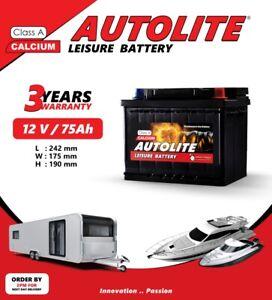 75ah Leisure Battery ULTRA 80 85 DEEP CYCLE Leisure maintenance free 3yr w