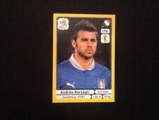 #319 ANDREA BARZAGLI ITALIA PANINI euro 2012 PLATINUM EDITION ADESIVO JUVENTUS