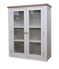 Dorset Oak Dresser Solid Top Pine for 2 Door Sideboard in Painted French Grey