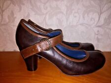 Vintage CANDIE'S Sexy Platforms Mary Janes Wedges HIGH HEELS Womens Shoes Sz 6.5