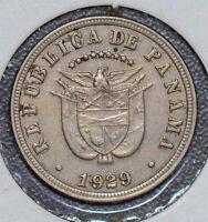 Panama 1929 5 Centesimos  190454 combine shipping