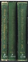 Menlo Park Reminiscences by Francis Jehl 3 Vol. Complete Thomas Edison 1937  $