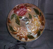 "Decorative Fruit Bowl Plate Centerpiece Kitchen Home 10"" In Diameter"